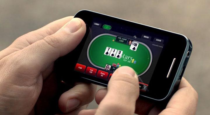 Покер на мобильном
